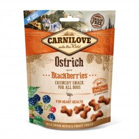 Carnilove Crunchy Snacks Strauß und Brombeere