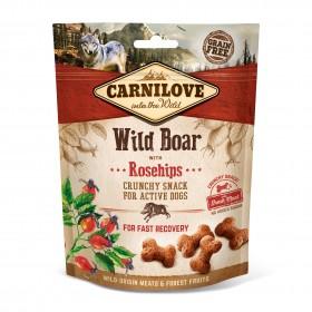 Carnilove Crunchy Snacks Wildschwein und Hagebutten