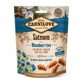 Carnilove Crunchy Snacks Lachs und Blaubeeren