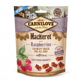 Carnilove Crunchy Snacks Makrele und Himbeere