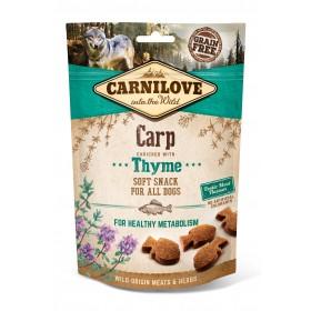 Carnilove Soft Snacks Karpfen und Thymian