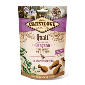 Carnilove Soft Snacks Wachtel und Oregano