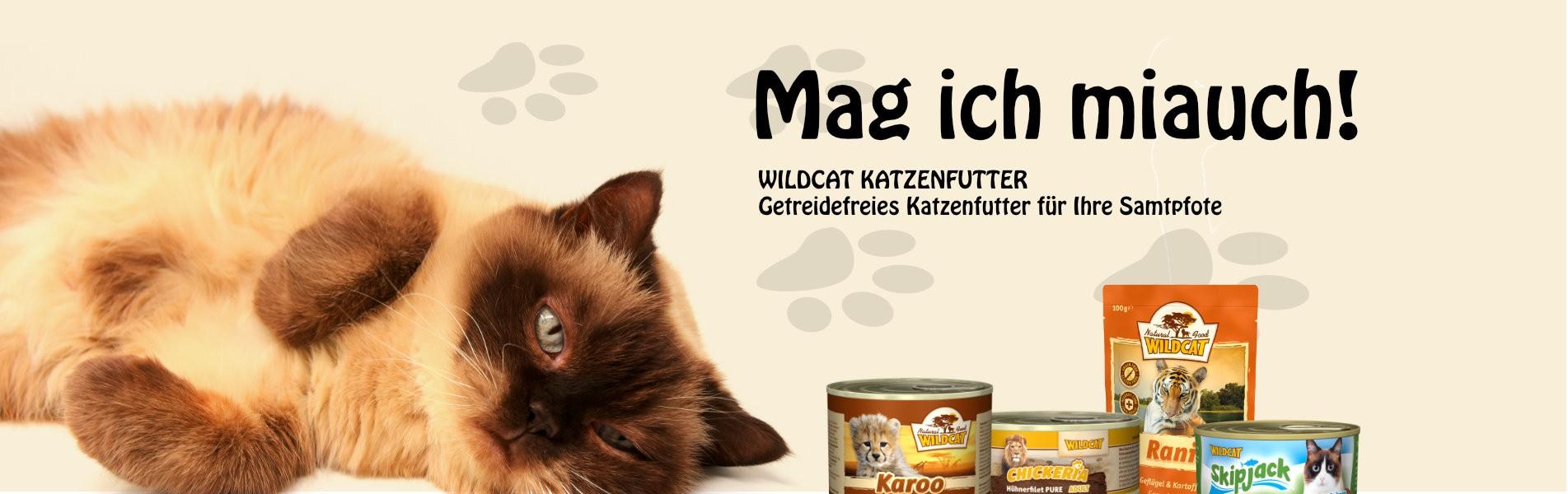 Wildcat Futter für die Katze